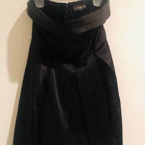 Satin Little Black Dress Forever 21 Size S